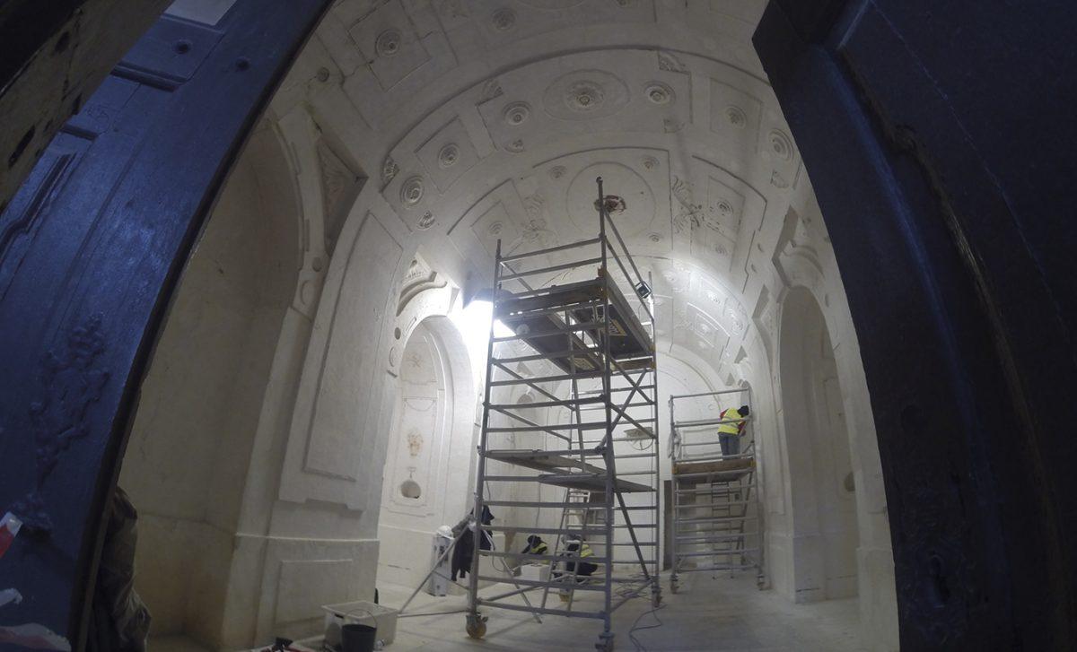 Forte da Graça foi reabilitado em Elvas. Projetos de Engenharia elaborados pela Sabrab, como responsável o engenheiro Miguel Barbas.