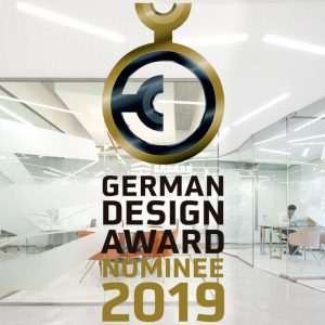 Sabrab Office Nomeado para o German Design Award 2019