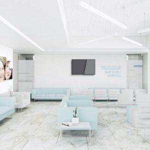 recepção clinica dentária